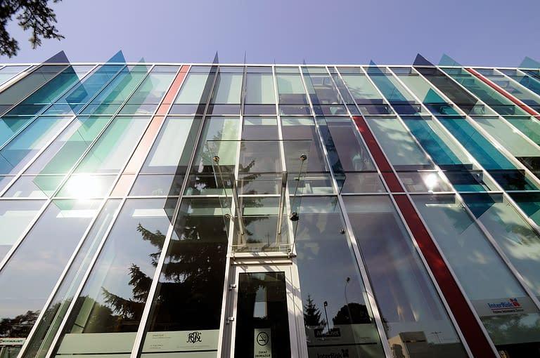 Budowany przez Generalnego Wykonawcę Rexbud budownictwo budynek biurowy, biuro opus film w Łodzi