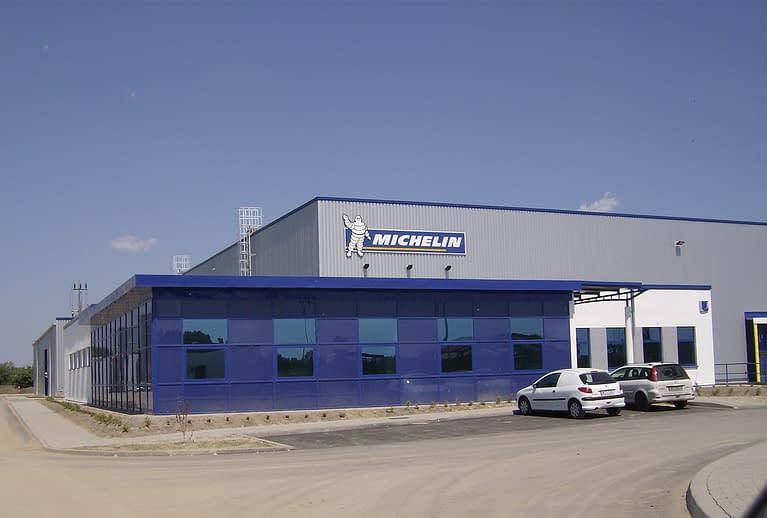 Hala logistyczno-magazynowa Michelin Polska w Parzniewie