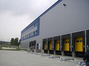 Centrum logistyczne - kompleks magazynowy i biurowy Euroterminal w Jaworznie - generalny wykonawca Rex-bud Budownictwo