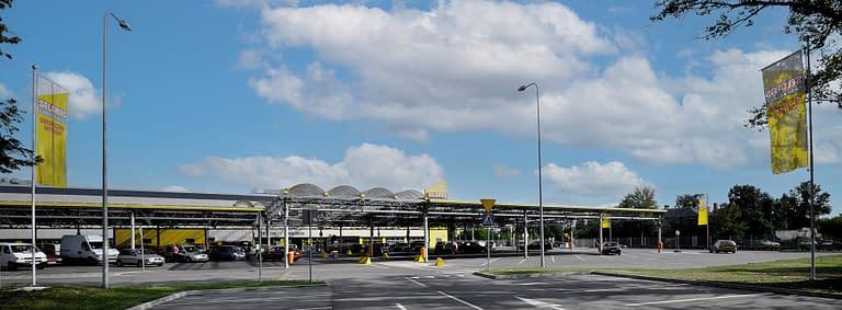 Generalny wykonawca hal handlowych w Łodzi - Rex-bud budownictwo wybudował centrum handlowe selgros Łódź