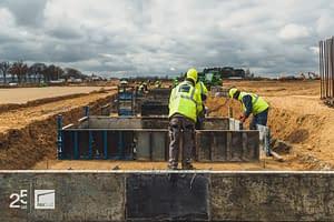budujemy halę przemysłową logistyczno-magazynową w centralnej polsce