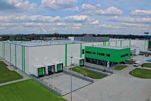Hala przemysłu spożywczego budowana przez Rex-Bud budownictwo dla Pasta food company