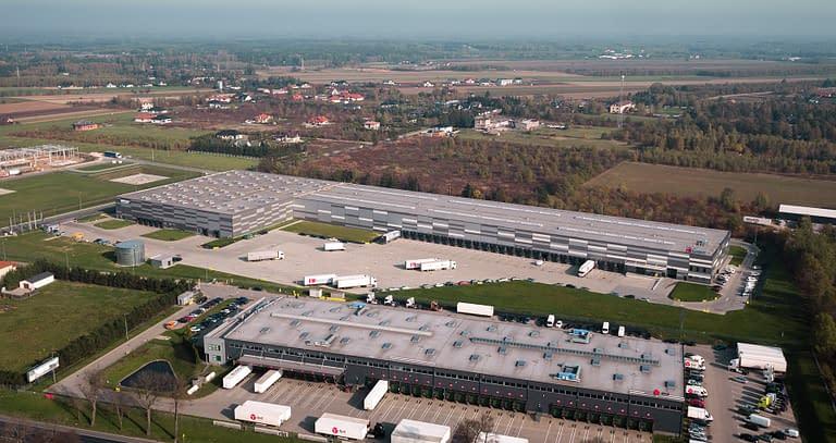 hala logistyczno magazynowa CLM Lućmierz - generalny wykonawca Rex-bud Budownictwo