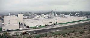 Wybudowana przez Rexbud Budownictwo hala produkcyjna Lafarge Gacki